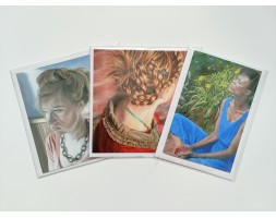 Artist Cards, set of 3 designs
