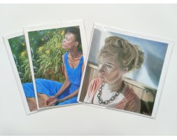 Artist Cards, set of 3