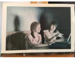 Girls Online, artist proof